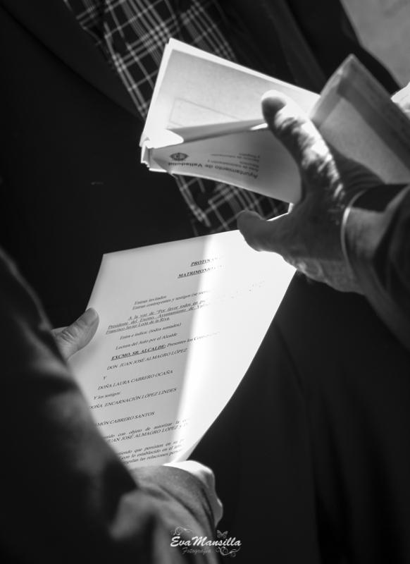 documentos boda ceremonia civil