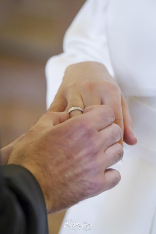 intercambio de anillos alianzas