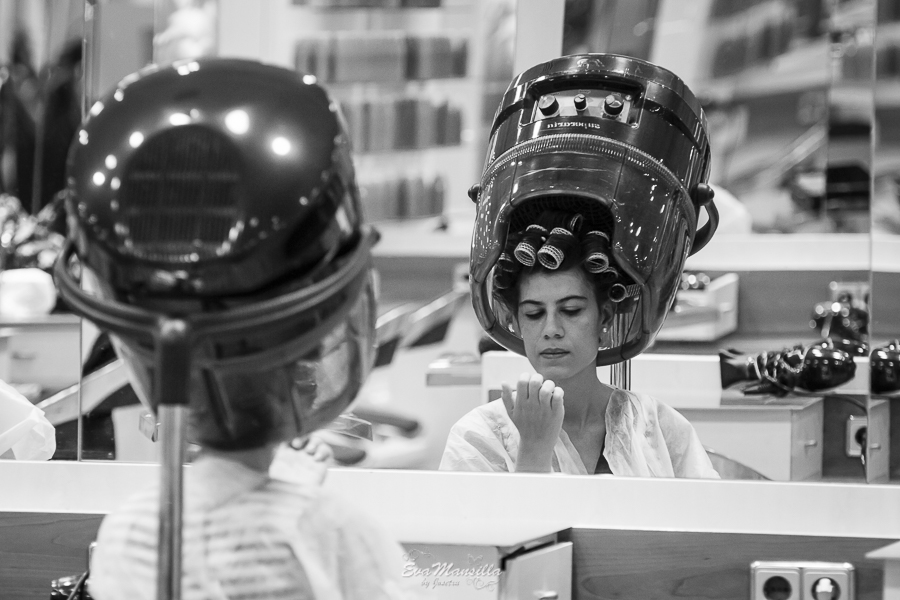 preparativos novia peluquería El Corte Inglés