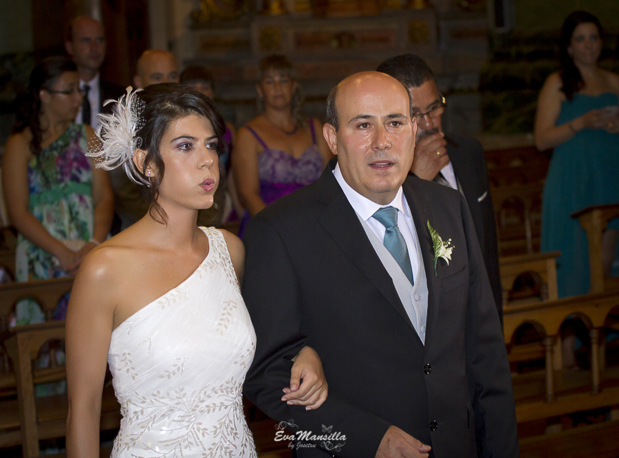 llegada novia y padrino Iglesia Filipinos