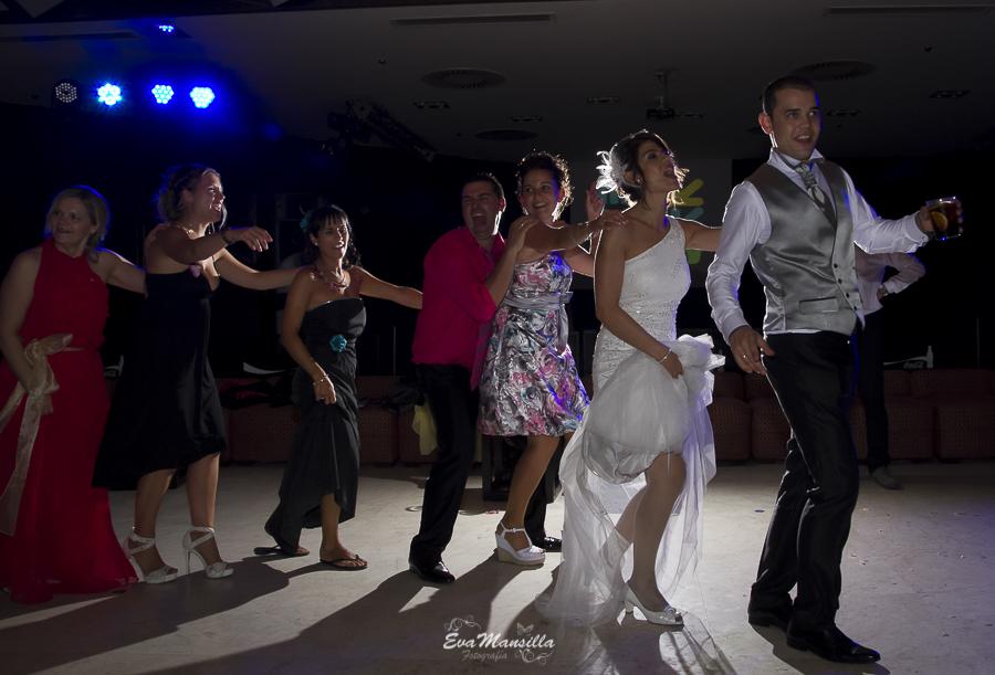 baile novios boda divertida Las Lomas