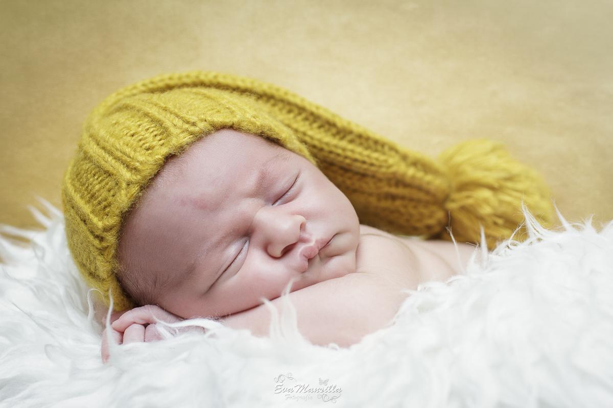 sesión fotográfica recién nacido