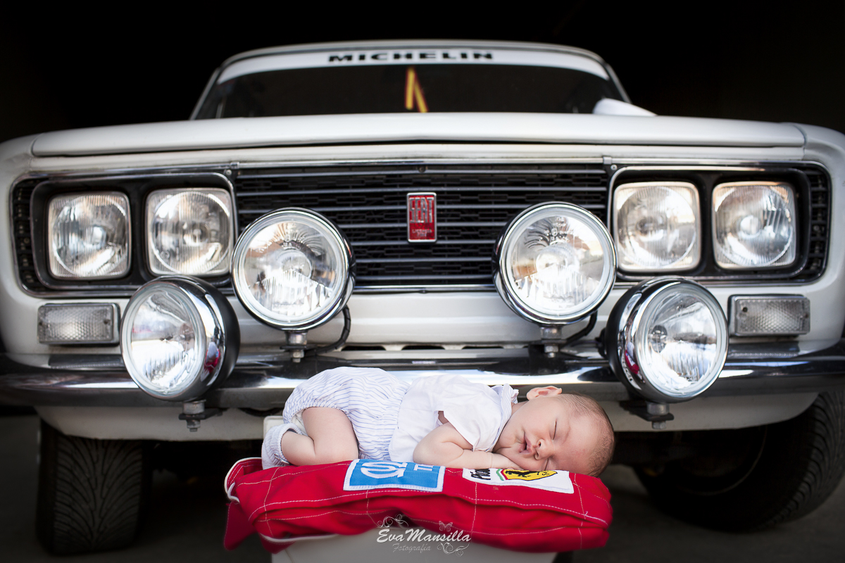bebé newborn coche clásico seat 1430