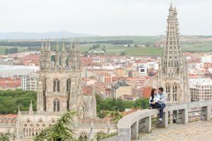 preboda en El Castillo de Burgos