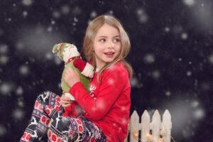 fotografia navideña infantil