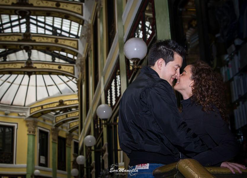 pareja romántica pasaje gutiérrez