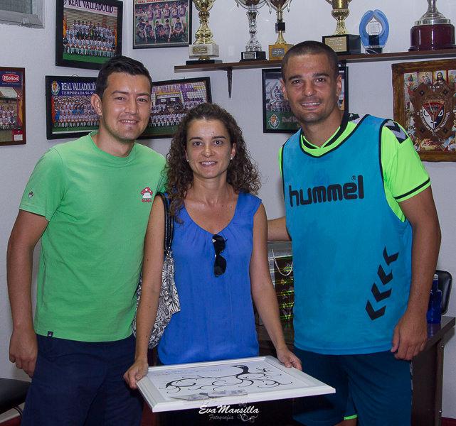 sorpresa novia Peña jugador fútbol