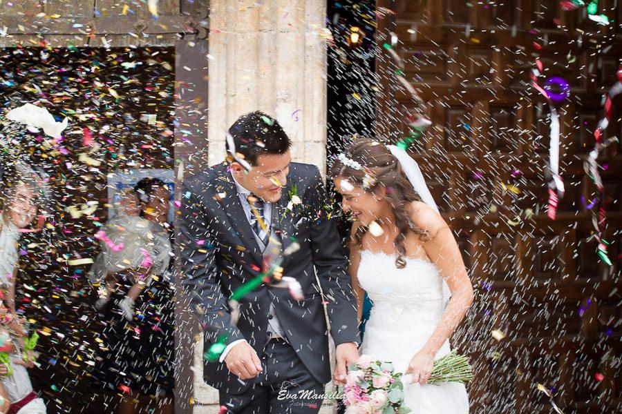 arroz novios boda simancas