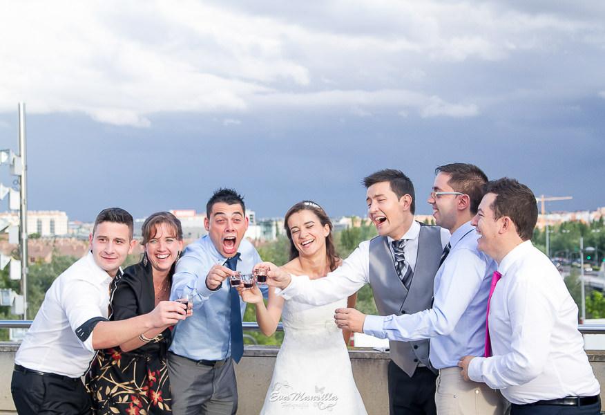 invitados divertidos boda las lomas valladolid