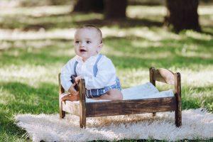 bebé cuna juguete jardín