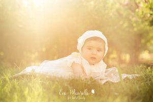 bebé niña bautizo
