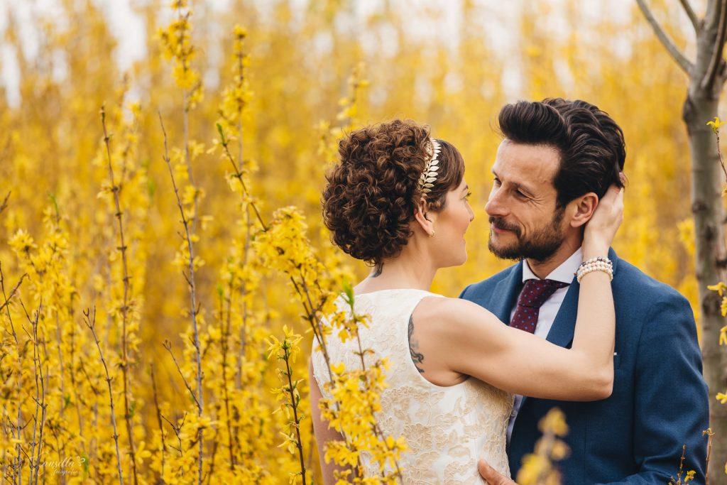 pareja novios flores amarillas cerro contiendas