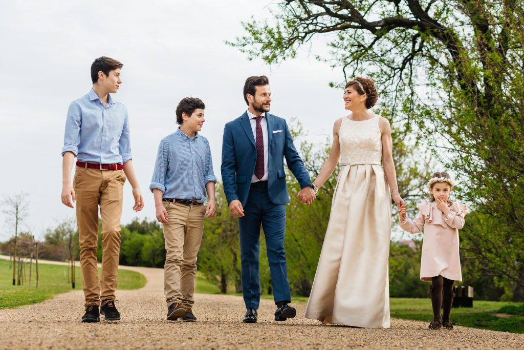retrato familia cerro contiendas