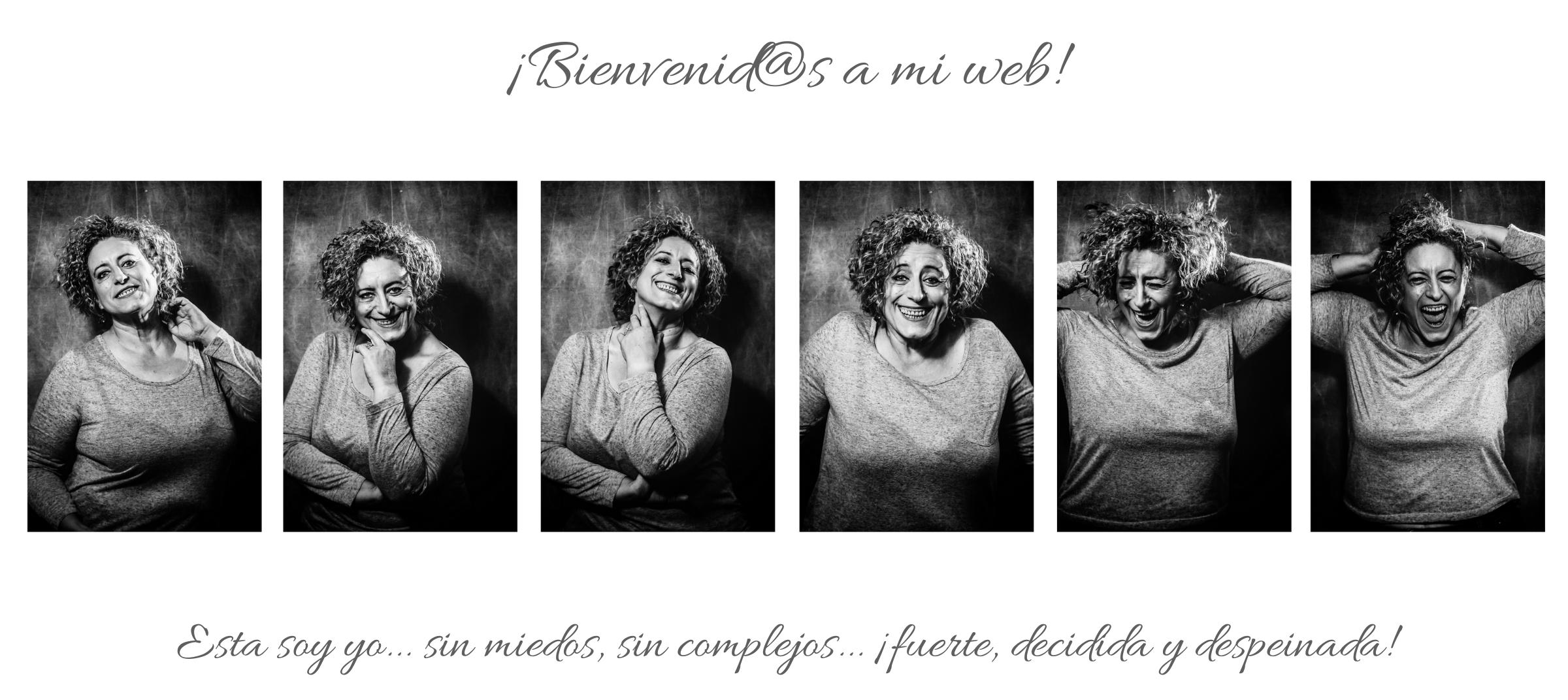 serie autorretratos expresiones blanco y negro