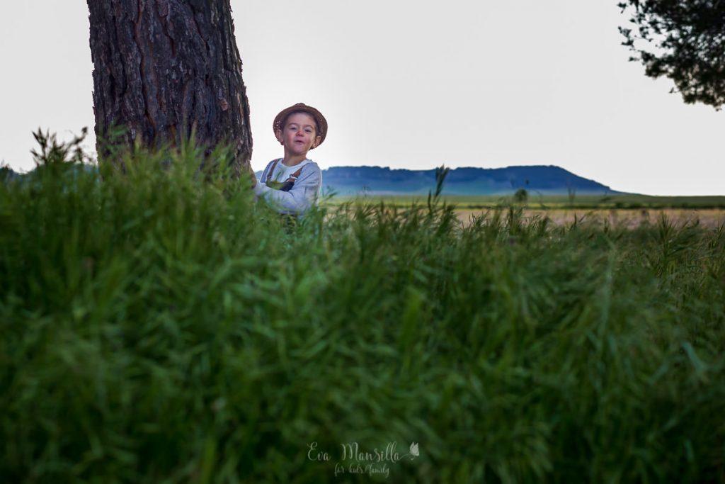fotografia infantil en Valladolid