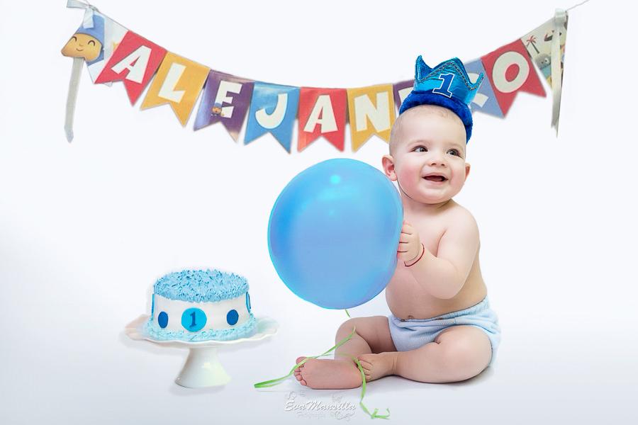 pastel bebé primer cumpleaños