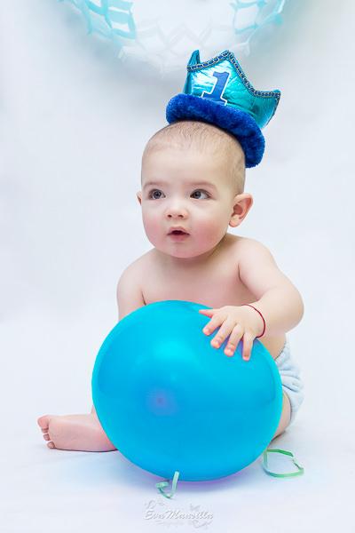 corona bebé primer cumpleaños